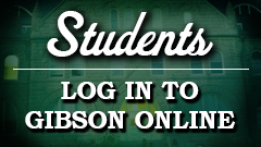 Students login into Gibson Online